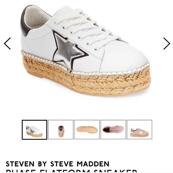 Steve Madden Star Platform Sneakers